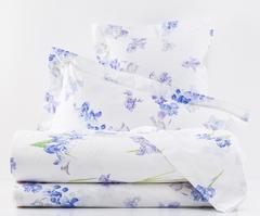 Постельное белье семейное Mirabello Iris-1 белое