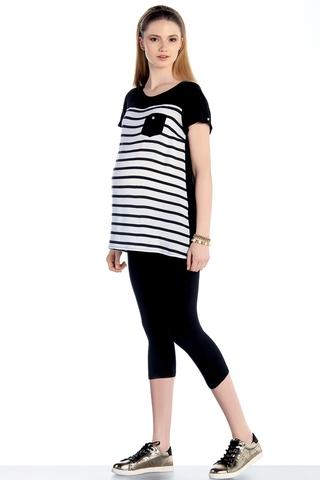 Блузка для беременных 07762 черный
