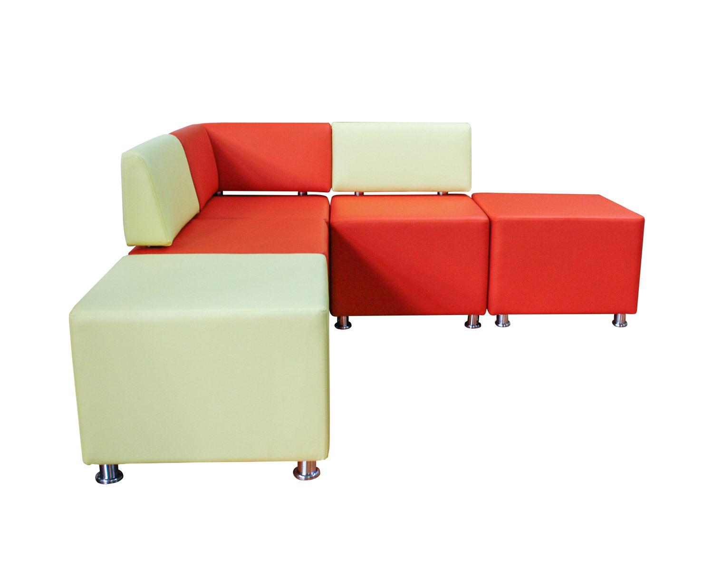 модульный диван Куб