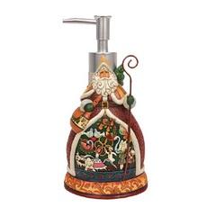 Дозатор для жидкого мыла Blonder Home Twelve Days of Santa
