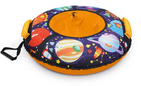 Тюбинг с круговым дизайном Ника ТБ3К 70/78 см с планетами