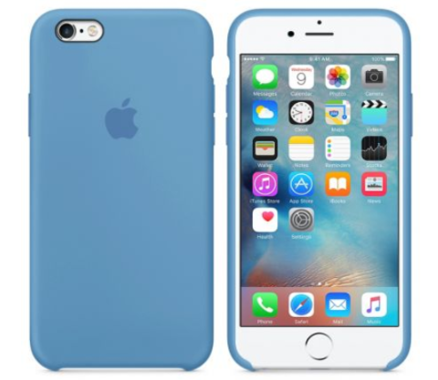 iPhone 6/6s Silicone Case  Denim Blue
