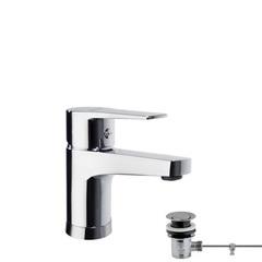 Смеситель для раковины с автоматическим клапаном TITANIUM 1891VA9065