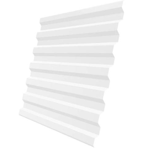 Профнастил С21х1051 мм RAL 9003 Белый