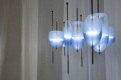 flow lighting by nao tamura for wonderglass ( blue )