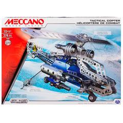 Конструктор Meccano 91733 Меккано Набор Боевой вертолёт (2 модели)