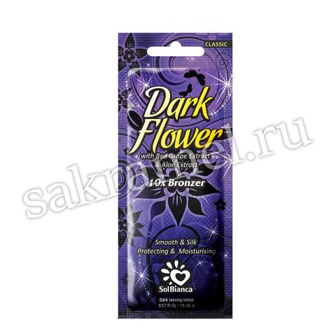 Крем SolBianca\ Dark Flower с экстрактами винограда, алоэ и бронзаторами 15 мл