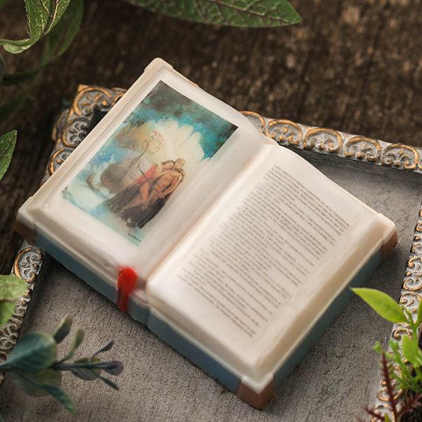 Мыло-книга. Водорастворимая бумага Любовные романы