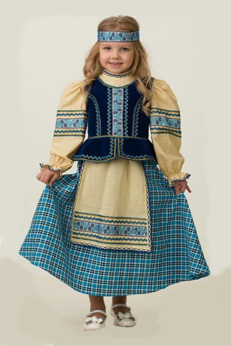 5604  Народный костюм (девочка).