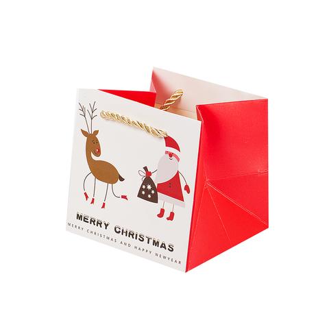 Пакет Christmas 12*12*12 White