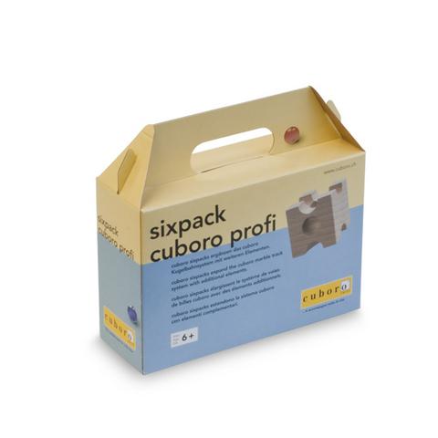 CUBORO CU-0143 Дополнительные элементы для Деревянного конструктора CUBORO - SixPack PROFI