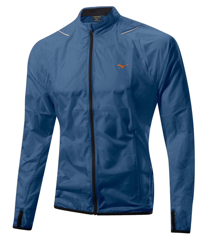 Мужская ветрозащитная куртка Asics FujiTrail SoftShell (J2GC4002 13) синяя