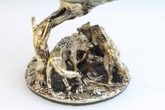 Бокал для коньяка Охота на Волков(картонная коробка)