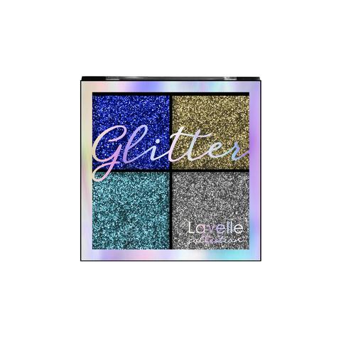 LavelleCollection Тени для век Glitterr тон 01 Королевская роскошь