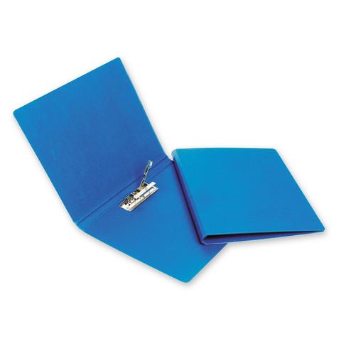 Папка с зажимом BANTEX 3301-01 синяя Дания-Россия