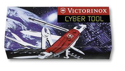 Нож Victorinox CyberTool, 91 мм, 34 функции, полупрозрачный красный*