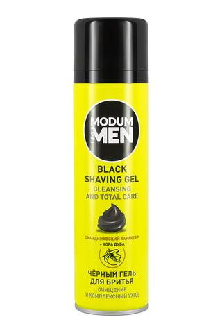 Modum Modum for men Гель для бритья Black Очищение и комплексный уход 200мл