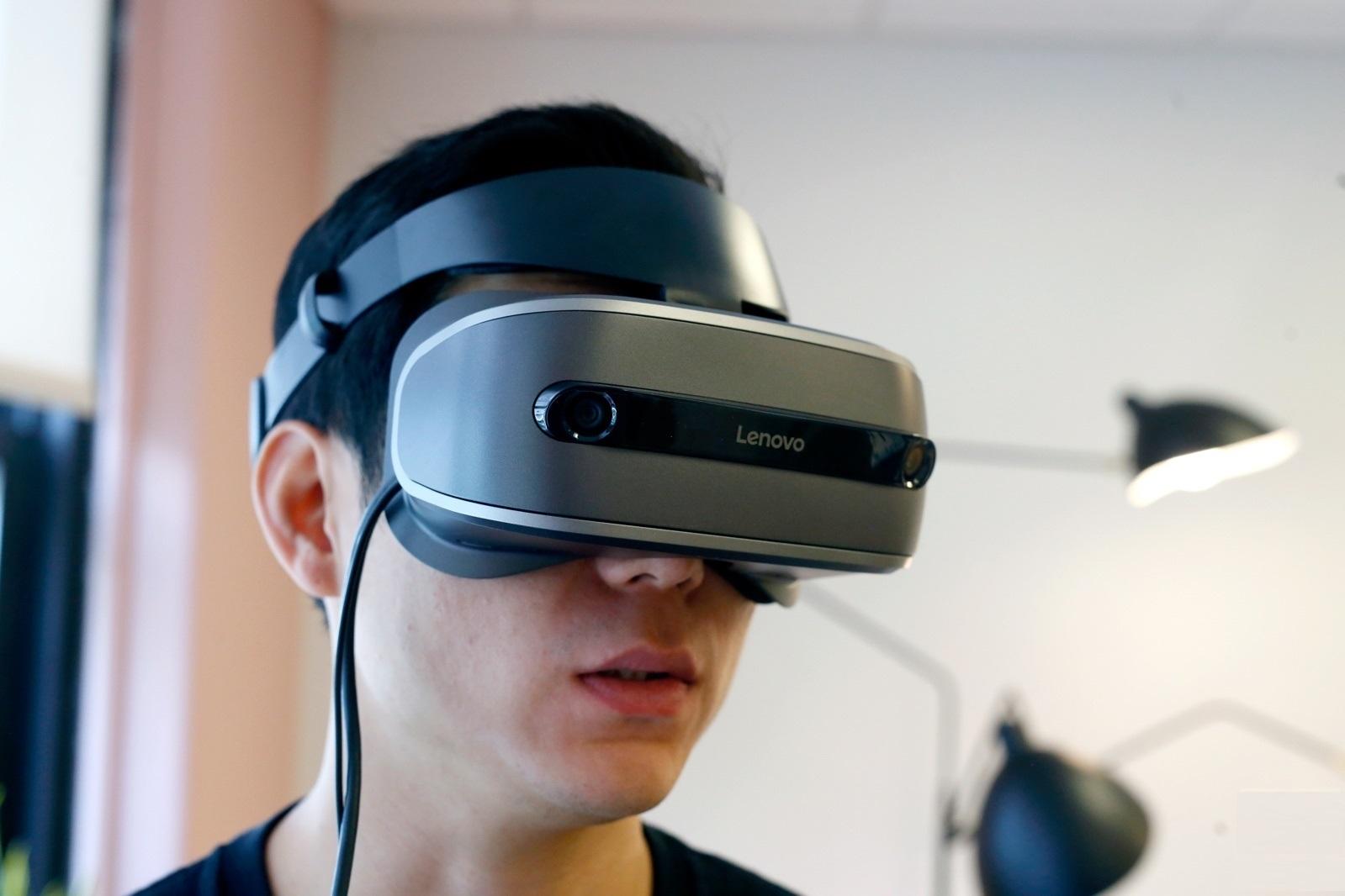 Очки виртуальной реальности Lenovo Explorer Windows Mixed Reality Headset