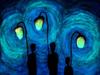 Прогулка (светящийся принт) 40x40 см