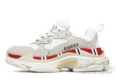 Кроссовки Balenciaga Triple S Gucci