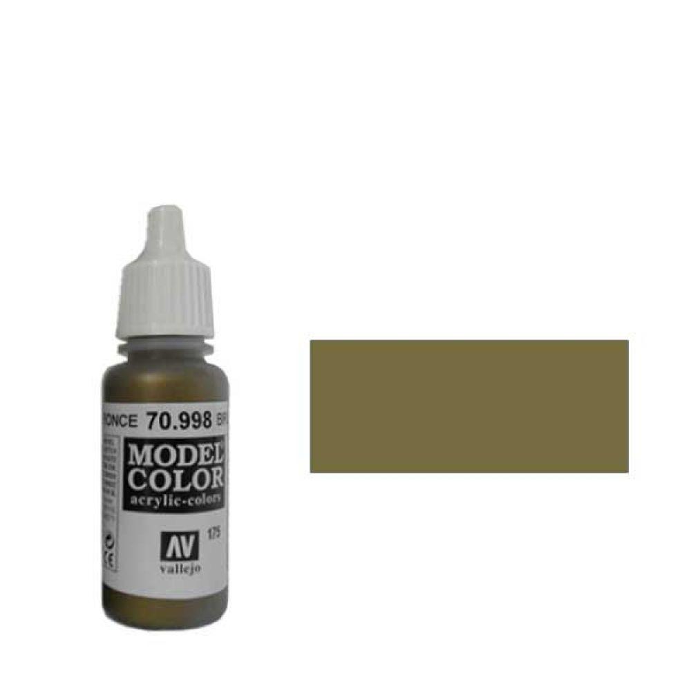 Model Color 175. Краска Model Color Бронза 998 (Bronze) металлик, 17мл import_files_ef_ef542b65d1e111df964b001fd01e5b16_aece1152327b11e4b197002643f9dbb0.jpg