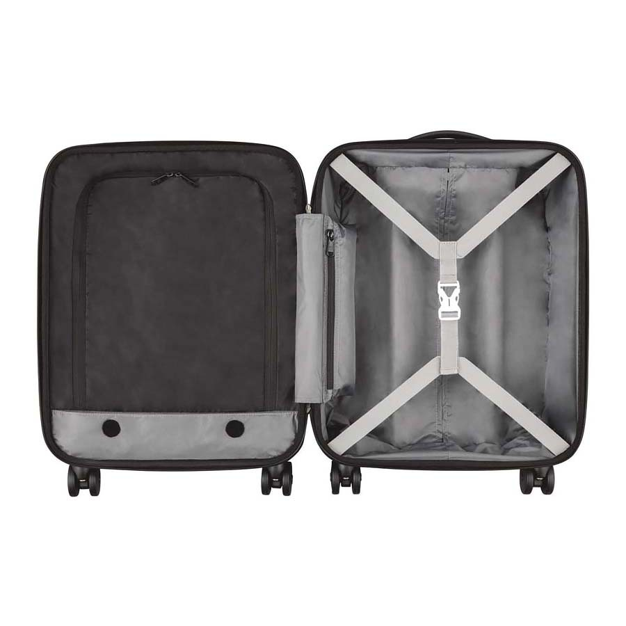Чемодан Victorinox Spectra Dual-Access 2.0, чёрный, 41x24x55 см, 37 л