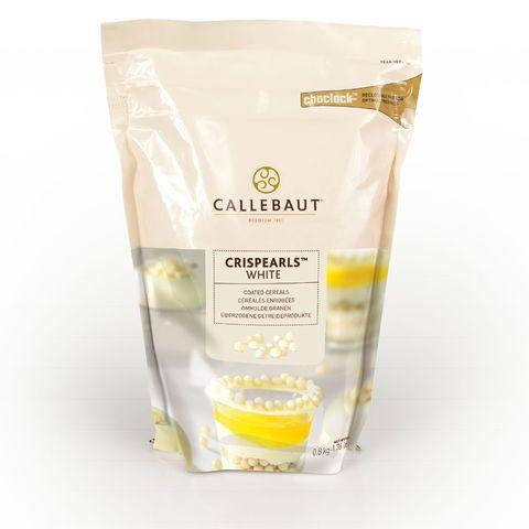 Шоколадные жемчужины Crispearls White, Callebaut