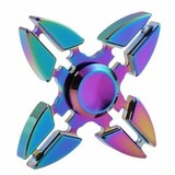 Металлический Спиннер хамелеон звезда ниндзя