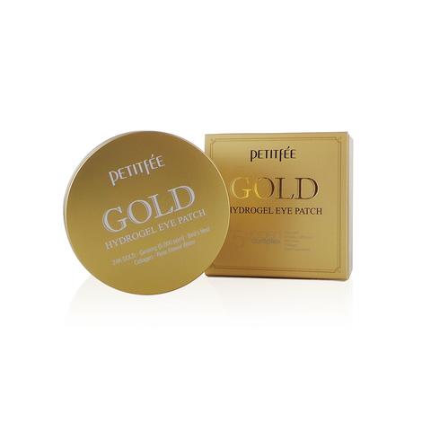 Гидрогелевые патчи для глаз с коллоидным золотом Petitfee Gold Hydrogel Eye Patch