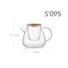Заварочный чайник SAMADOYO S`095, 900 мл