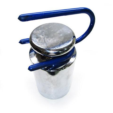 Гиря 10 кг  F2 в алюминиевом футляре с захватом для подъема