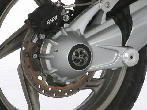 Крышки ступиц Tornado BMW серебро