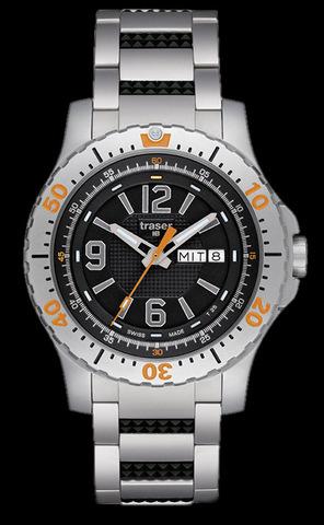 Купить Наручные часы Traser Extreme Sport 100224 (стальной браслет) по доступной цене