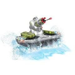 Радиоуправляемый танк-амфибия стреляющий присосками - 24883B