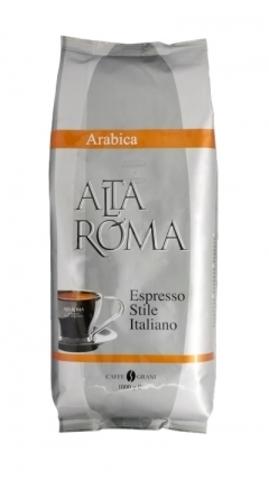 Кофе Alta Roma Arabica в зернах в упаковке 1 кг