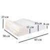 Ортопедическая подушка под ноги ТОП-107 (Тривес)