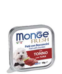Monge Dog fresh влажный корм для собак с тунцом 100гр.