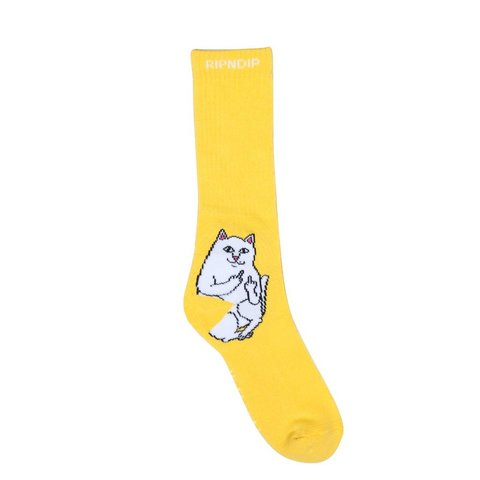 Носки RIPNDIP Lord Nermal (Yellow)