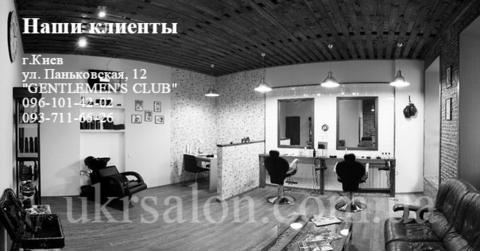 Фото 1 интерьера барбершопа Gentlemen's club