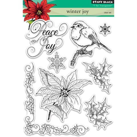 Набор штампов  Winter Joy