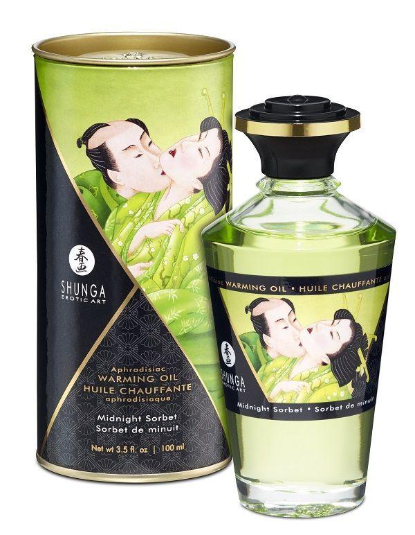 Массажные масла и свечи: Массажное интимное масло с ароматом щербета - 100 мл.