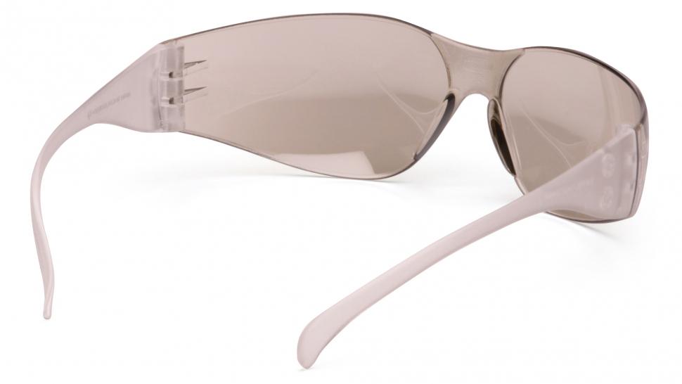 Очки стрелковые Pyramex Intruder S4180S зеркально-серые 50%