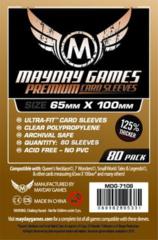 Протекторы для настольных игр Mayday Premium Magnum 7 Wonders (65x100) - 80 штук