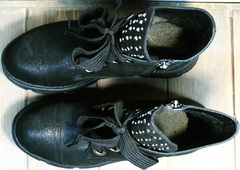 Ботинки женские натуральная кожа Rifellini Rovigo 525 Black.