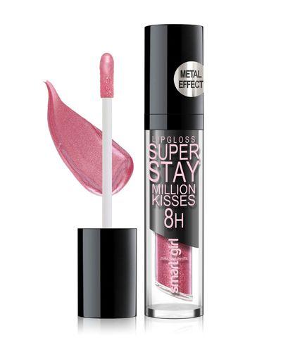 Супер стойкий блеск для губ Smart girl Million kisses тон 214