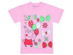 19065-31 футболка детская, розовая