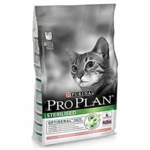 Purina Pro Plan Sterilised с лососем 10 кг