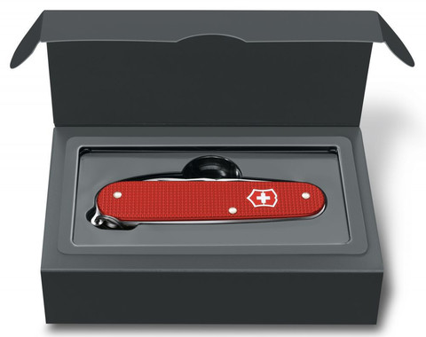 Нож Victorinox Alox Cadet, 84 мм, 9 функций, красный