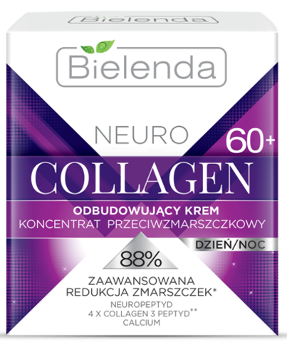 NEURO COLLAGEN Восстанавливающий крем-концентрат против морщин 60+ дневной/ночной 50мл