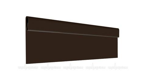 Финишная планка Аквасистем оцинкованная с полимерным покрытием POLYESTER 2 м